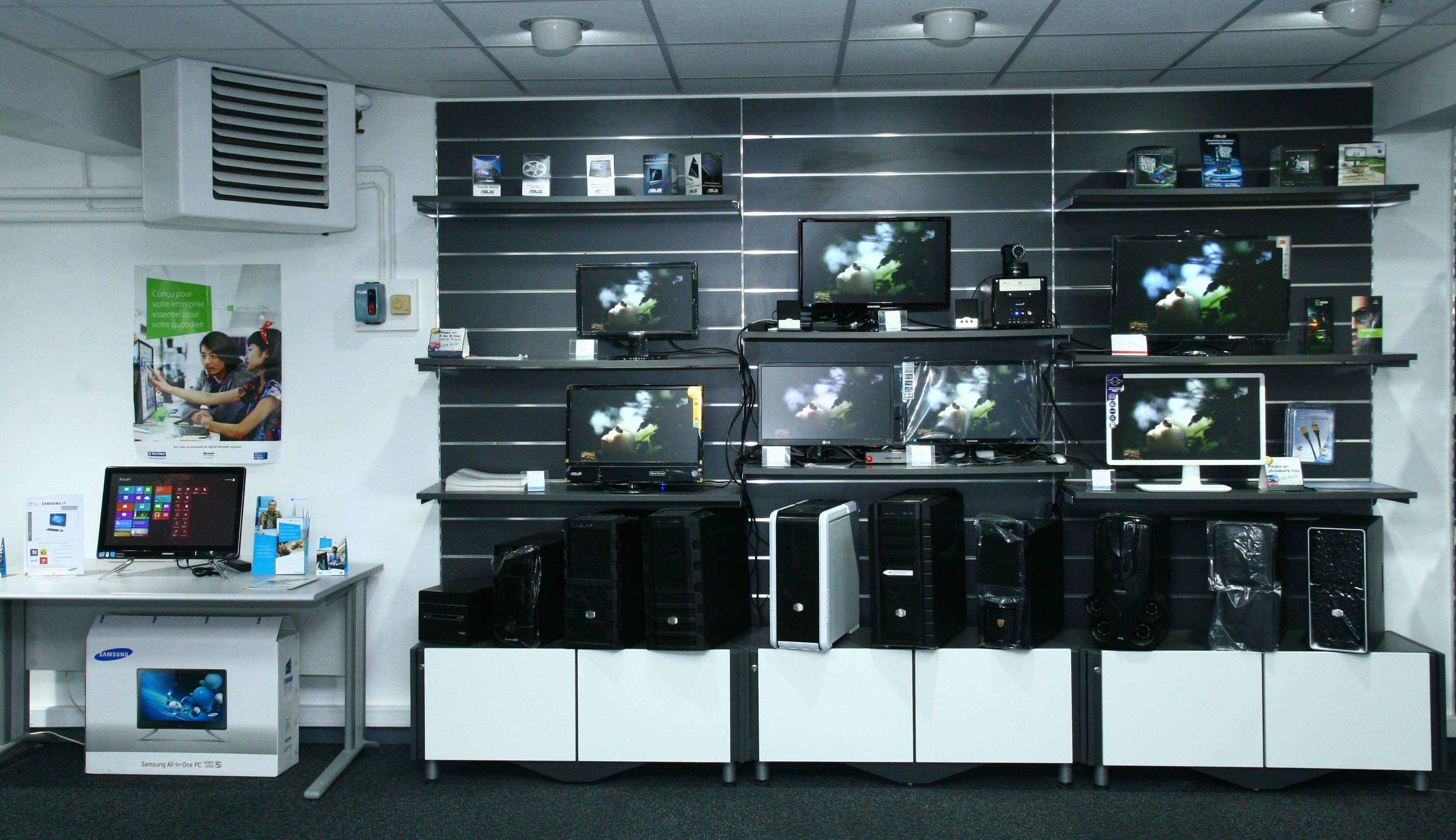 La boutique informatique presentation - Ordinateur de bureau configuration sur mesure ...